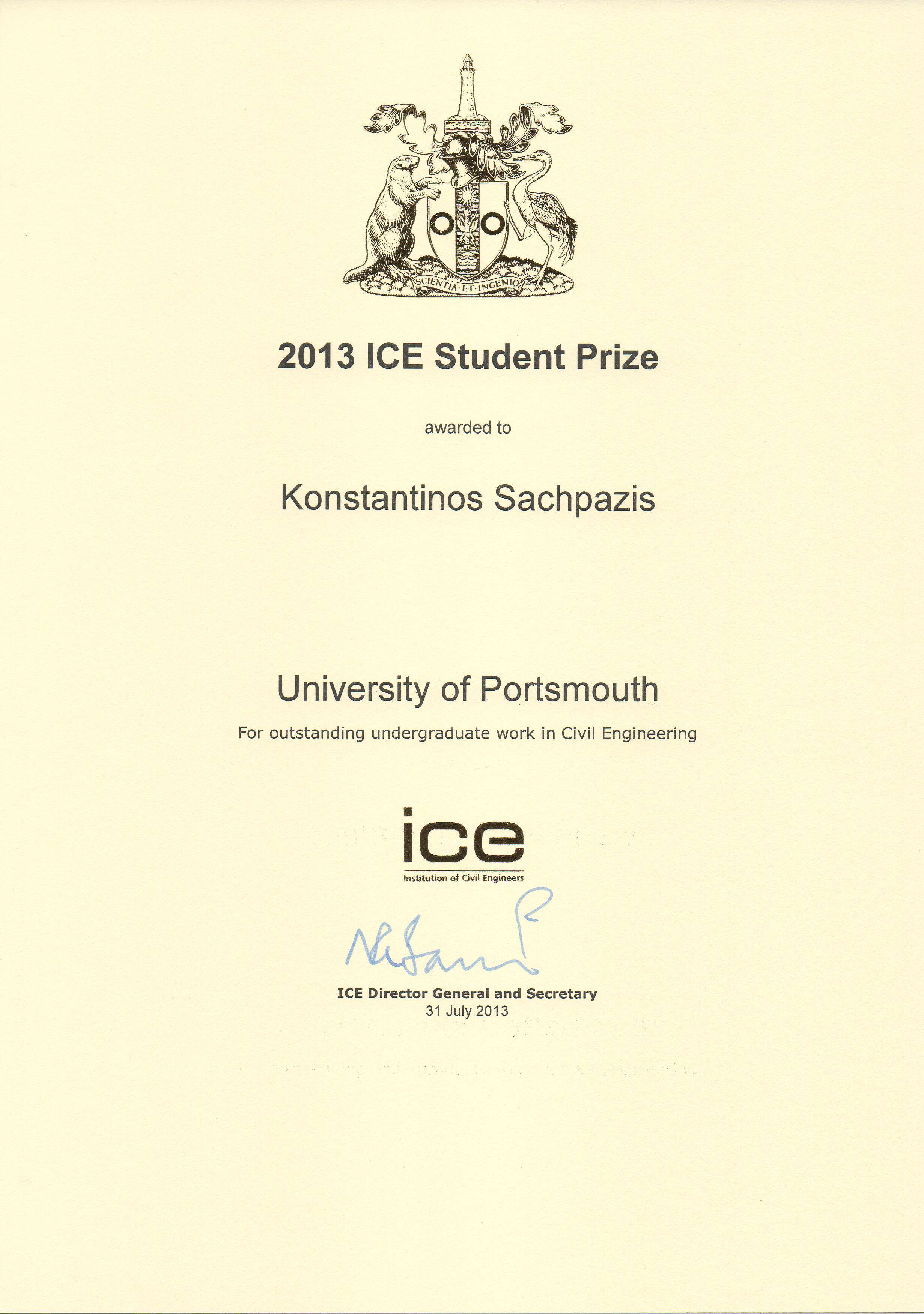 Human resources geodomisi engineer and an ice prize award xflitez Gallery